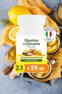 piperina curcuma plus zenzero limone